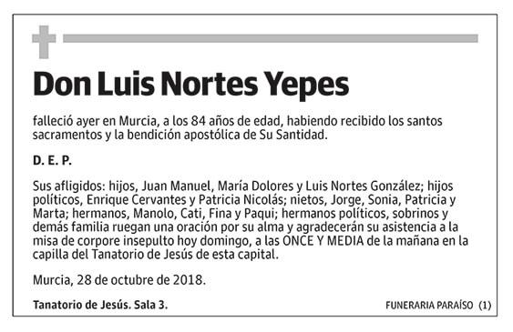 Luis Nortes Yepes