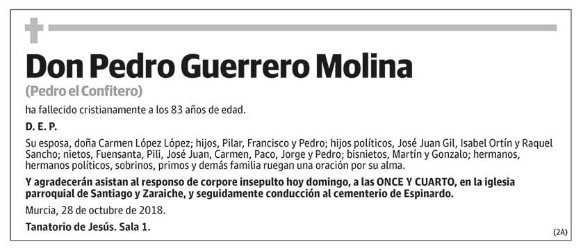 Pedro Guerrero Molina