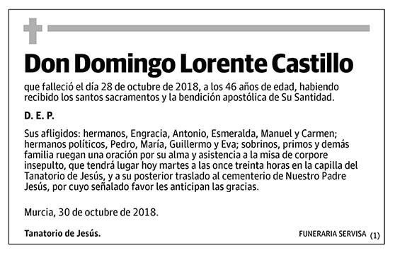 Domingo Lorente Castillo