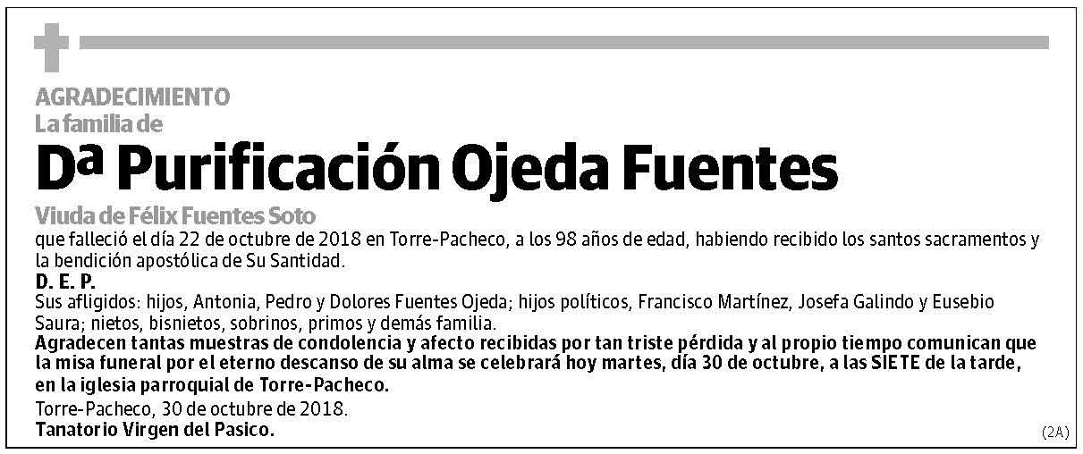 Purificación Ojeda Fuentes