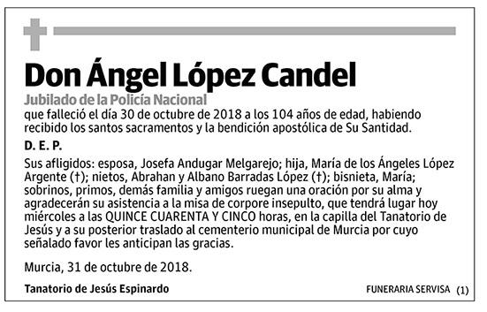 Ángel López Candel
