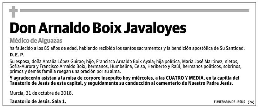 Arnaldo Boix Javaloyes