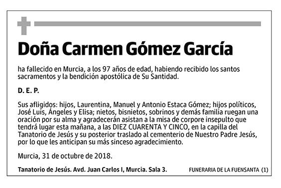 Carmen Gómez García