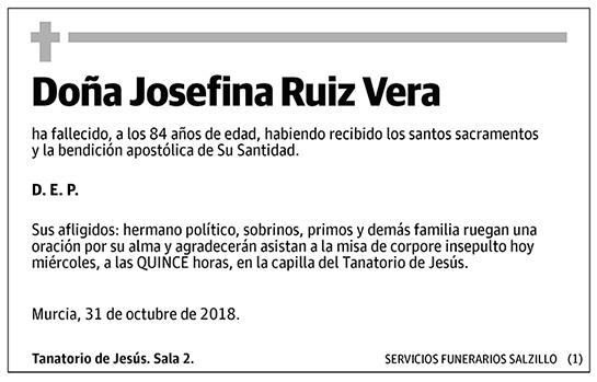 Josefina Ruiz Vera