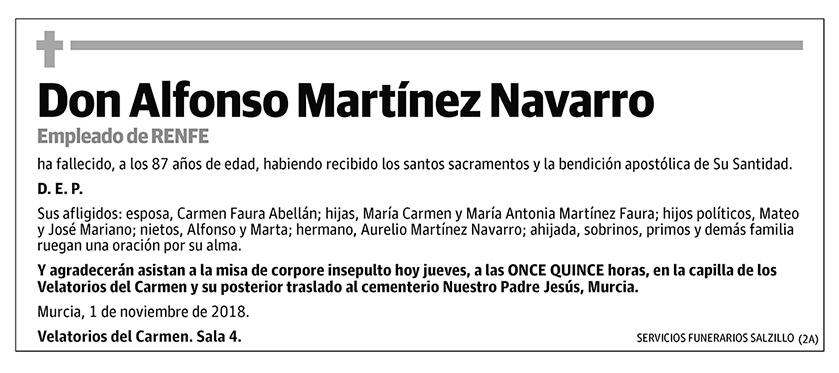 Alfonso Martínez Navarro