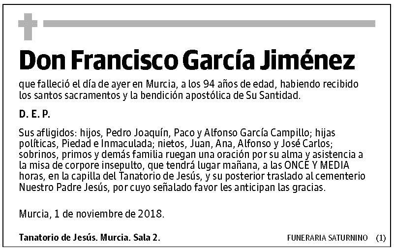 Francisco García Jiménez