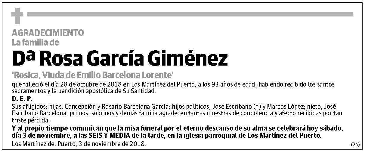 Rosa García Giménez