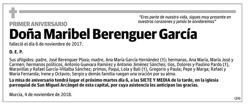 Maribel Berenguer García