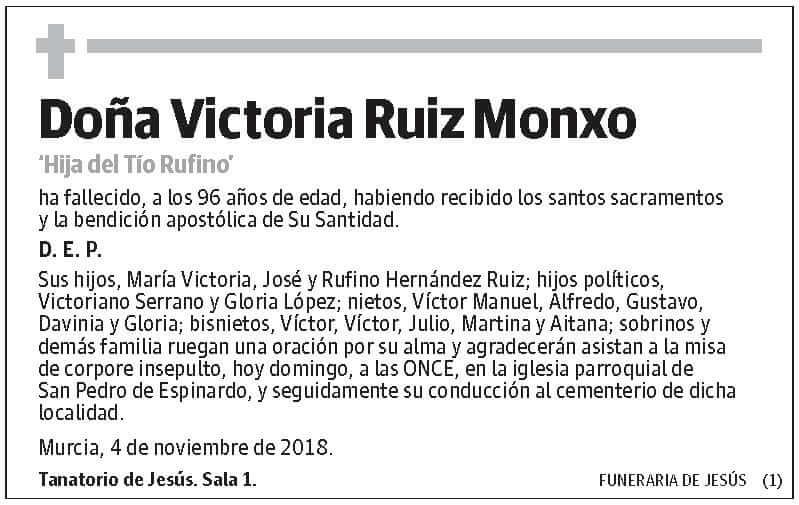 Victoria Ruiz Monxo