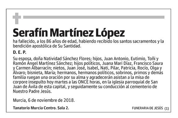 Serafín Martínez López