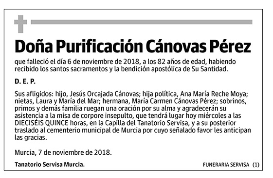 Purificación Cánovas Pérez