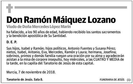 Ramón Máiquez Lozano
