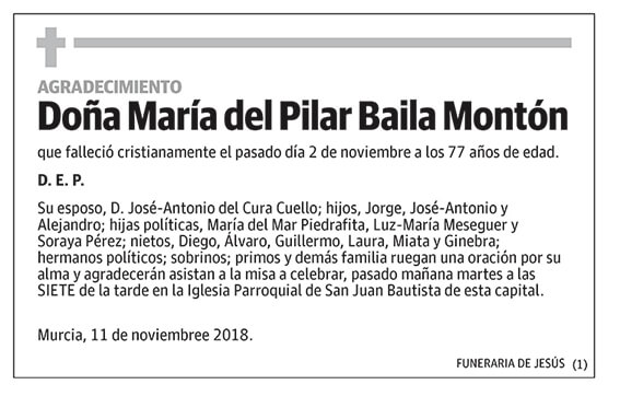María del Pilar Baila Montón