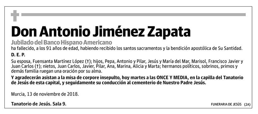 Antonio Jiménez Zapata