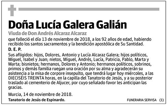 Lucía Galera Galián