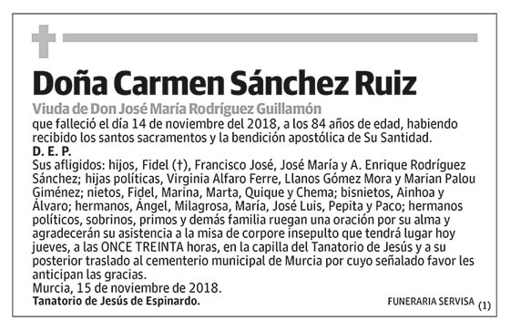 Carmen Sánchez Ruiz