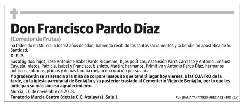 Francisco Pardo Díaz