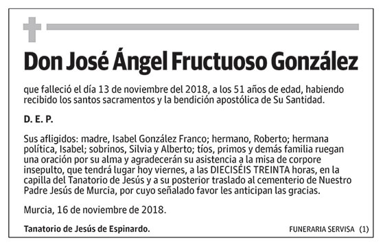 José Ángel Fructuoso González