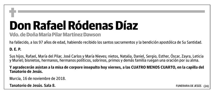 Rafael Ródenas Díaz