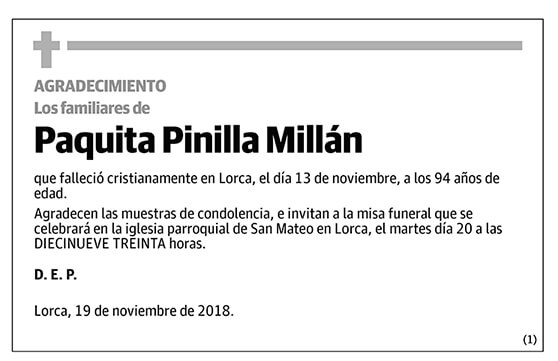 Paquita Pinilla Millán