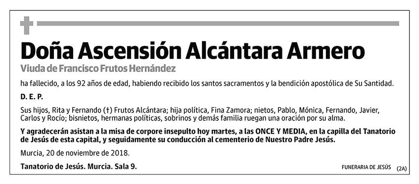 Ascensión Alcántara Armero