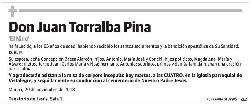 Juan Torralba Pina