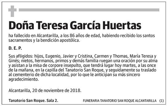 Teresa García Huertas