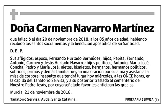 Carmen Navarro Martínez
