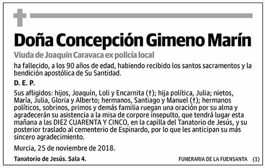 Concepción Gimeno Marín