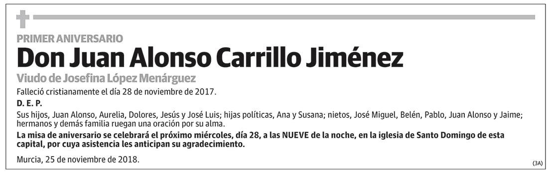 Juan Alonso Carrillo Jiménez