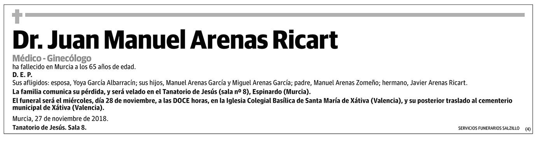 Juan Manuel Arenas Ricart