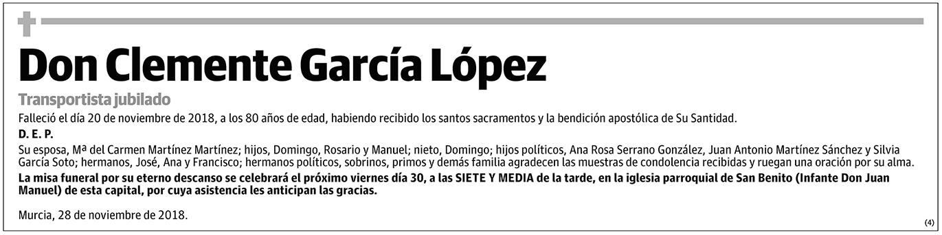 Clemente García López