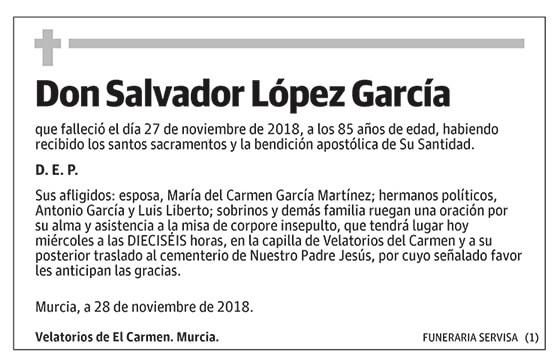 Salvador López García