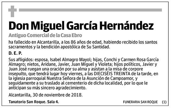 Miguel García Hernández