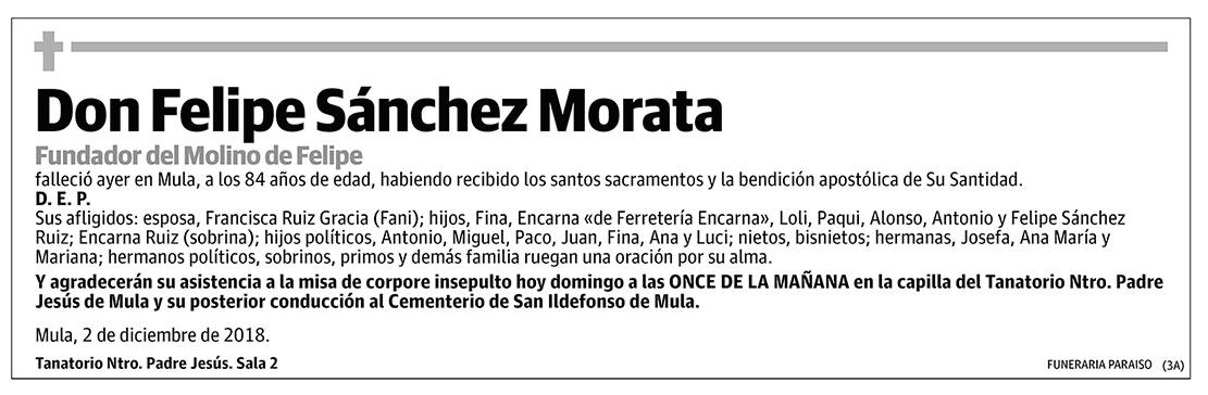 Felipe Sánchez Morata