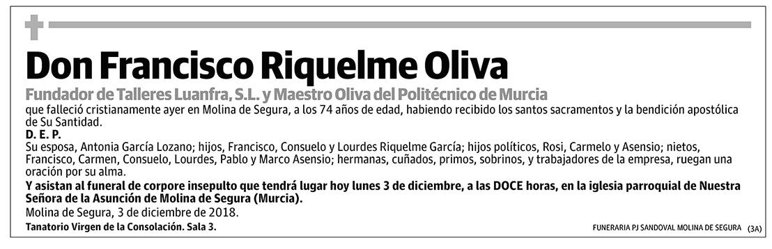 Francisco Riquelme Oliva