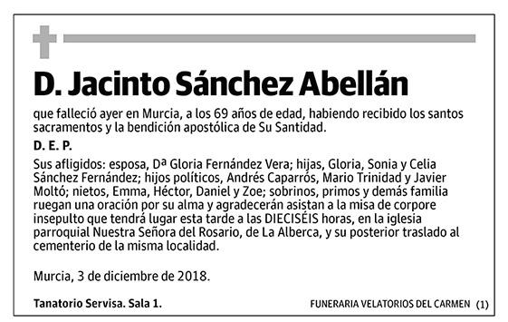 Jacinto Sánchez Abellán