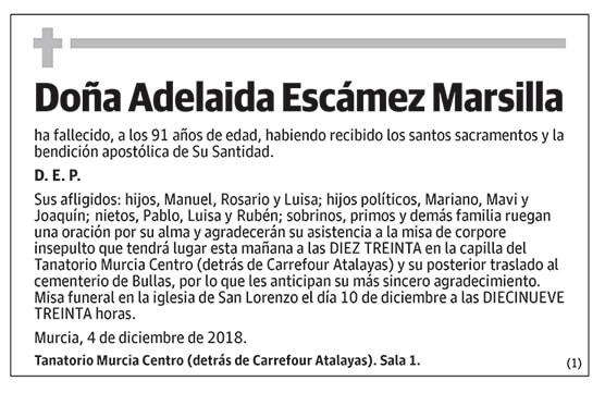 Adelaida Escámez Marsilla