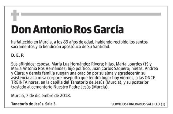 Antonio Ros García