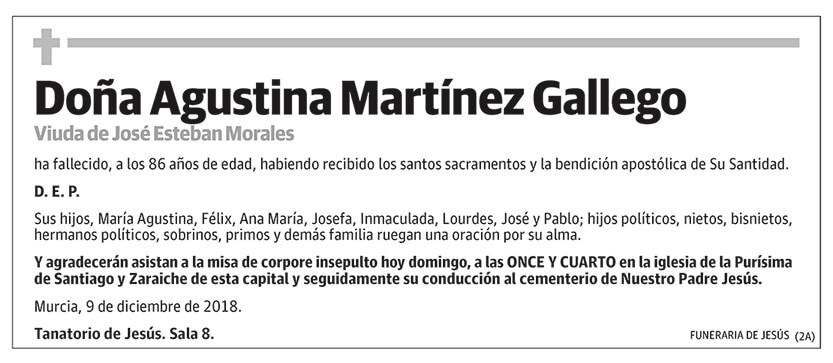 Agustina Martínez Gallego