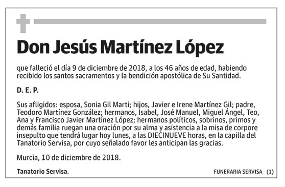 Jesús Martínez López