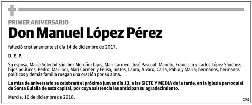 Manuel López Pérez