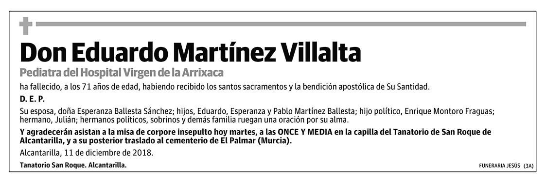 Eduardo Martínez Villalta