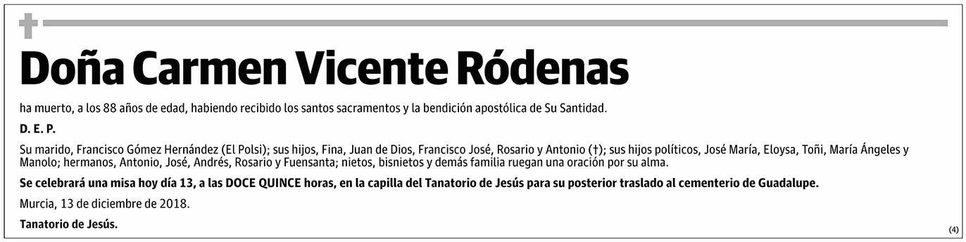 Carmen Vicente Ródenas