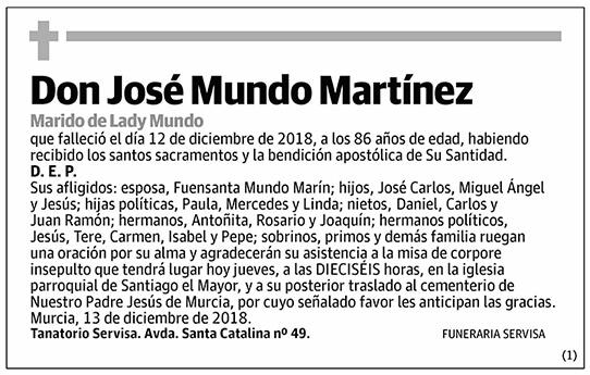 José Mundo Martínez