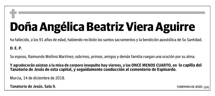Angélica Beatriz Viera Aguirre