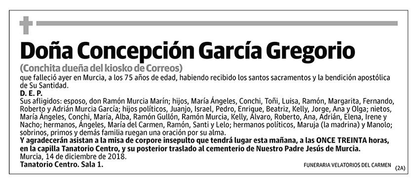 Concepción García Gregorio