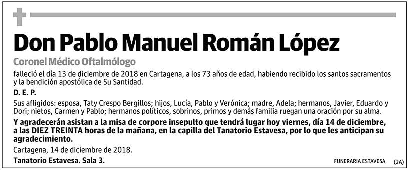 Pablo Manuel Román López