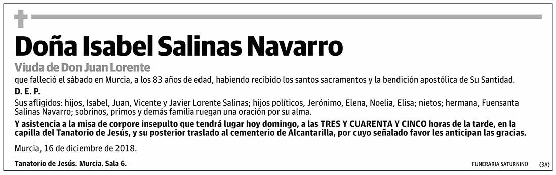 Isabel Salinas Navarro