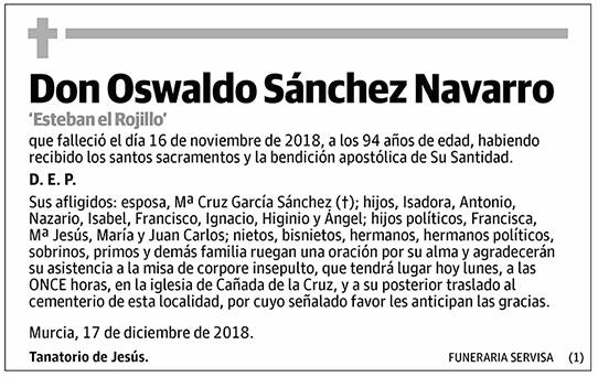 Oswaldo Sánchez Navarro